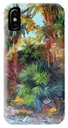 Palm Oasis IPhone Case