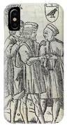 Palm Reading, 16th Century Artwork IPhone Case