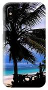 Palm Shadows IPhone Case