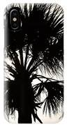 Palm Sihlouette IPhone Case