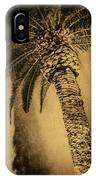 Palm Tree At The Aladdin Casino IPhone Case