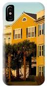 Palm Tree Beauty At Isle Of Palms IPhone Case