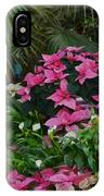 Palms And Flowers IPhone Case