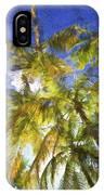 Palm Trees Of Aruba IPhone Case