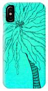 Palm Turquoise  IPhone Case