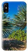 Palms On The Beach. Mauritius IPhone Case