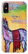 Palomino Horse In Desert IPhone Case