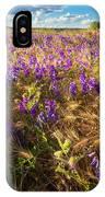Palouse Falls Wildflowers IPhone Case