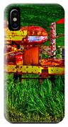 Palouse Tractor IPhone Case