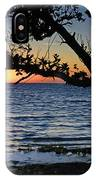 Pamlico Sound Through The Trees IPhone Case