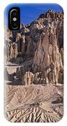Panaca Formations In Cathedral Gorge State Park Nevada IPhone Case