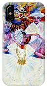 Panama Carnival. Fiesta IPhone Case