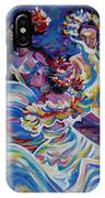 Panama Carnival. Folk Dancers IPhone Case