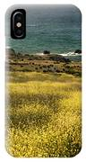 Panarama Spring On Califronia Coast By Denise Dube IPhone Case