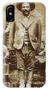 Pancho Villa  Portrait With Children No Location Or Date-2013 IPhone Case