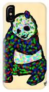 Panda A La Fauvism IPhone Case