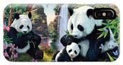 Panda Valley IPhone X Case