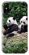 Pandas In China IPhone Case