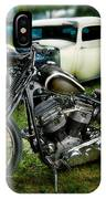 Panhead Harley And Ford Pickup IPhone Case