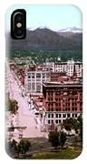 Panorama Of Denver IPhone Case