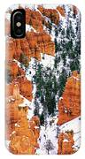 Panorama Winter Storm Blankets Thors Hammer And Bryce Canyon IPhone Case