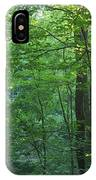 Panoramic Shot With Green Trees IPhone Case