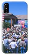 Panoramic View Of Spectators At Oxnard IPhone Case