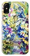 Pansy Path IPhone X Case
