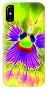 Pansy Power 59 IPhone Case