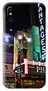Pantages Theater IPhone Case