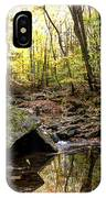 Panther Branch In Fall IPhone Case