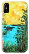 Panther Island In The Bayou IPhone Case