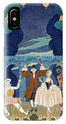 Pantomime Stage IPhone Case