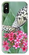 Paper Kite Butterfly - 2 IPhone Case