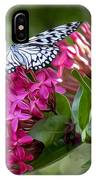 Paper Kite On Fluid Blossoms IPhone Case