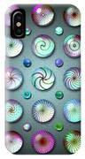 Paperweights And Marbles IPhone Case