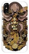 Papillon Mecaniques IPhone X Case