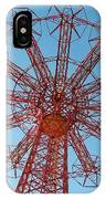 Parachute Jump-coney Island IPhone Case