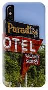 Paradise Motel IPhone Case