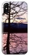 Paradox Lake Sunset II IPhone Case