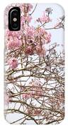Parakeets Hiding In The Flowers IPhone X Case