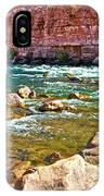 Pariah Riffle Near Lee's Ferry In Glen Canyon National Recreation Area-arizona IPhone Case