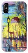 Paris Arc De Triomphie  IPhone Case