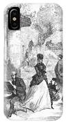 Paris: Boulevard, 1872 IPhone Case