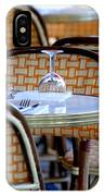 Paris Cafe 2 IPhone Case
