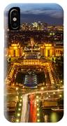 Paris City From The Eiffel Tower IPhone Case