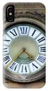 Paris Clocks 1 IPhone Case