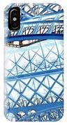 Paris Design In Blue IPhone Case