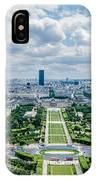 Paris From Above IPhone Case