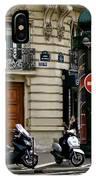 Paris Holiday IPhone Case